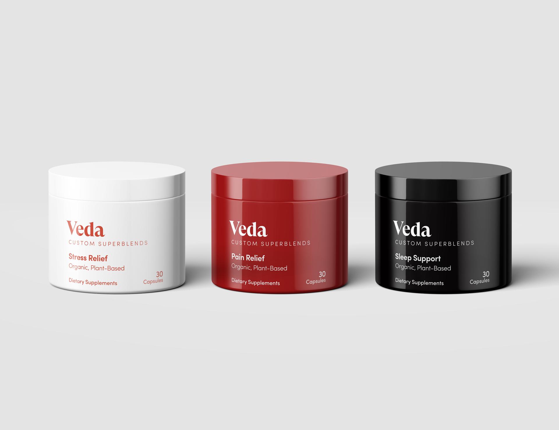 CBD Supplements Packaging Design