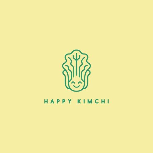 Happy Kimchi Logo
