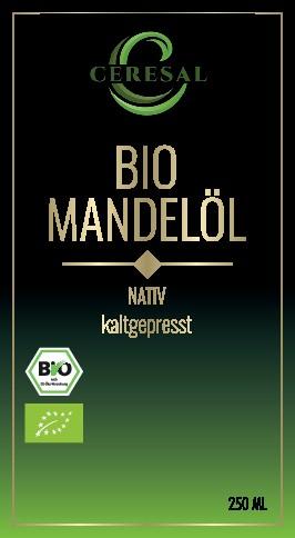 Organic Almond Oil/Bio Mandelöl