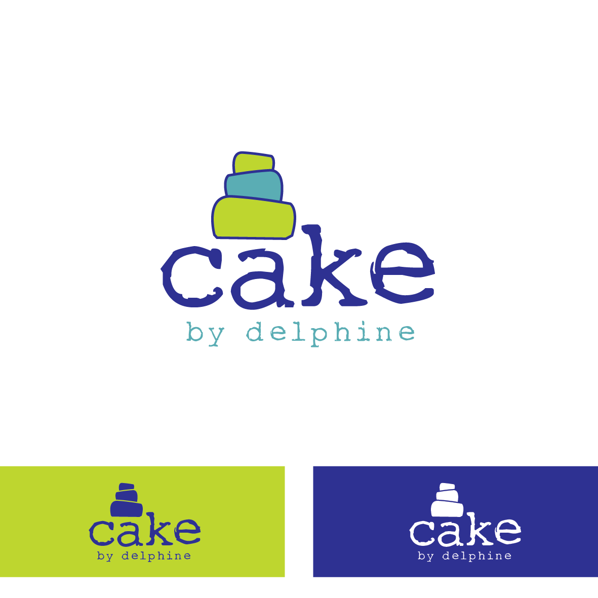 Create a fresh and funky feel for a cake designer starting up
