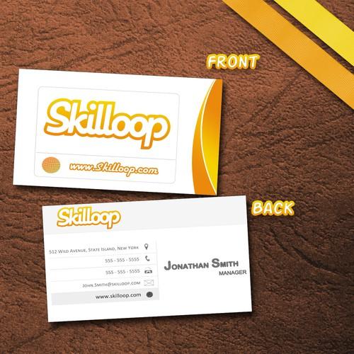 Skilloop needs new biz cards