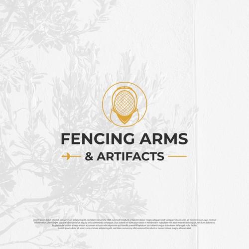 Fencing Arms Logo
