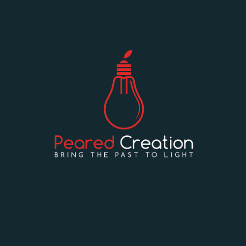 Create a hip logo for an industrial style lighting company