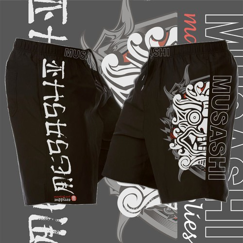 Help Musashi martial art supplies create board shorts design