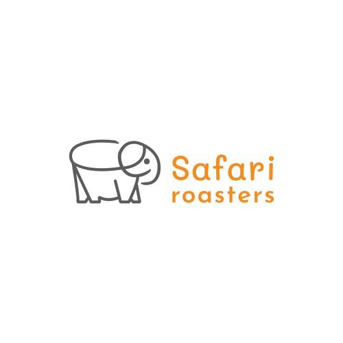 Minimalist Logo for Cafe