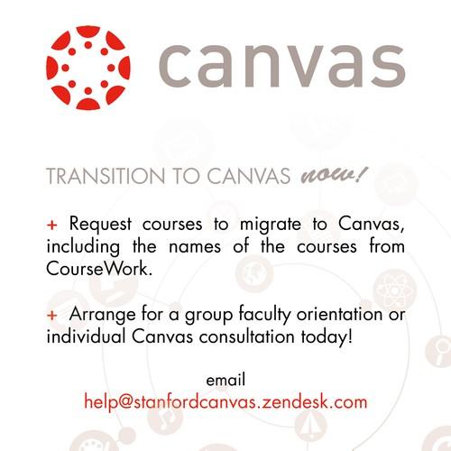 Canvas flyer