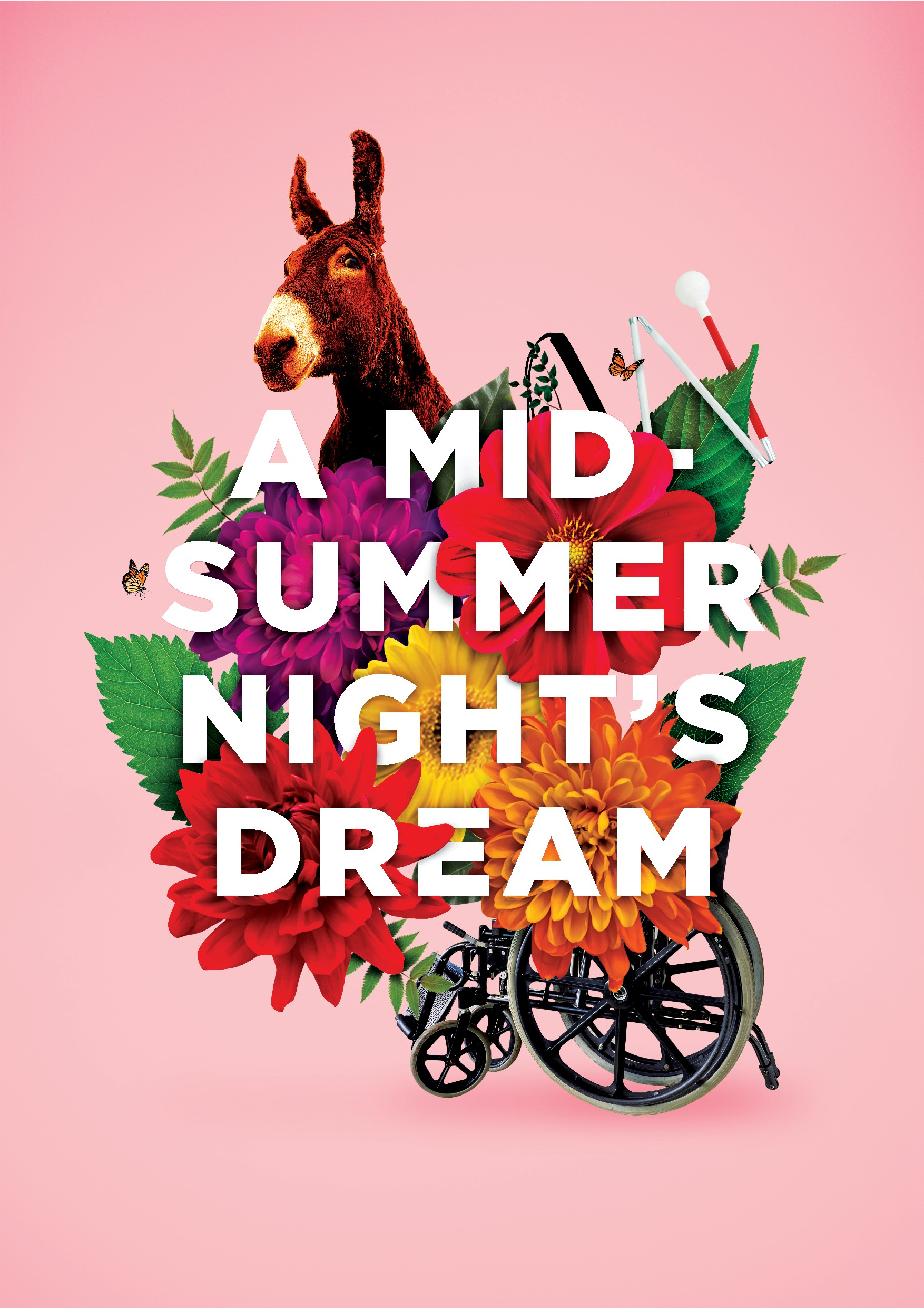 A Midsummer Night's Dream Poster (Actors with Disabilities)
