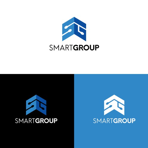 Logo Crowd Design For Smart Group