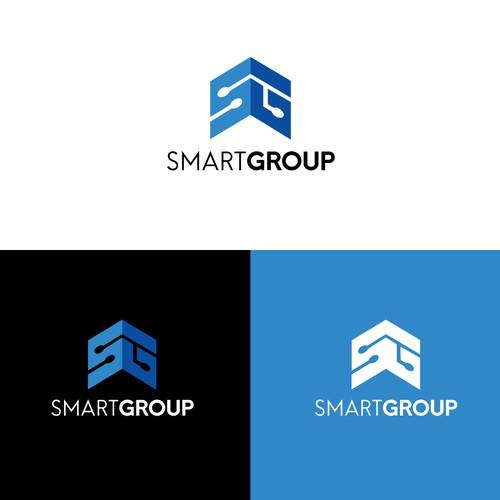 Logo Crowd Design For Smart Group