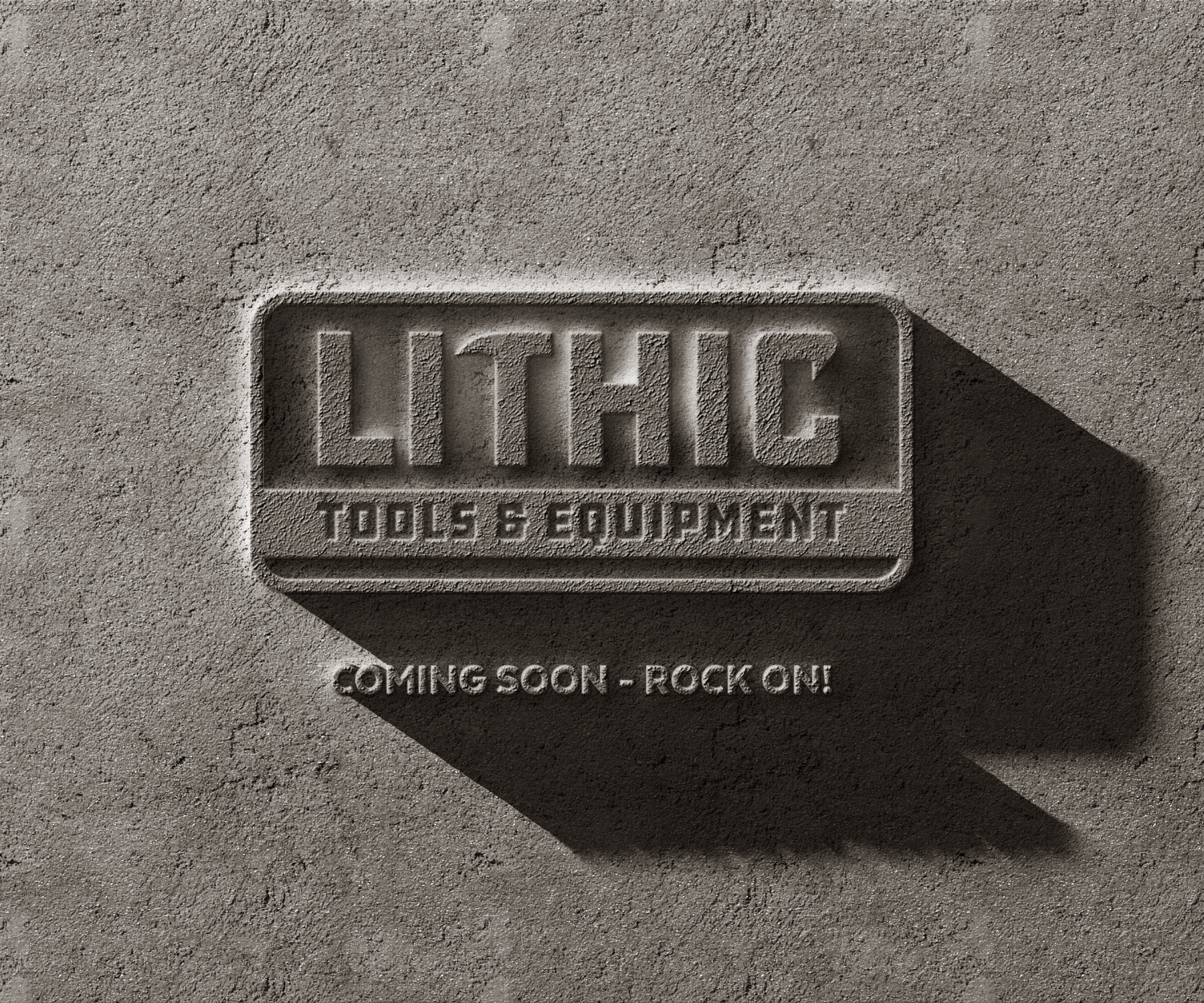 Initial Logo and Brand Identity for new tool product line. Lithic Tools & Equipment