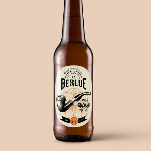 Label for Craft Beer