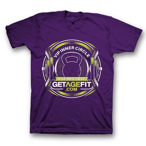 fitness / Gym design tshirt
