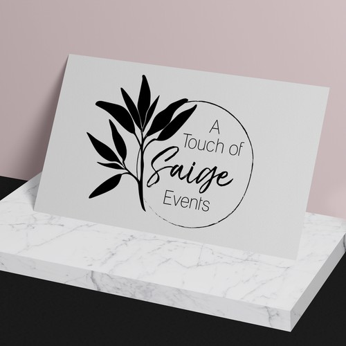 Logo concept for wedding and event planning company