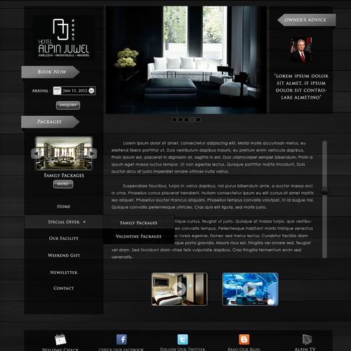 Hotel Alpin Juwel  needs a new website design