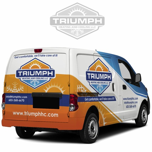 Van Wrapfor TRIUMPH Heating and Cooling
