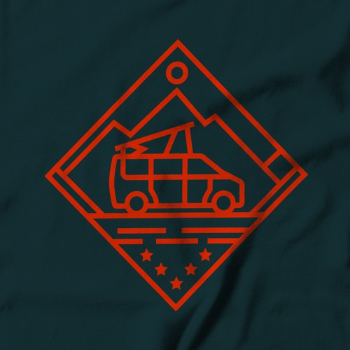 Outsiders -- Logo for a campervan rental company
