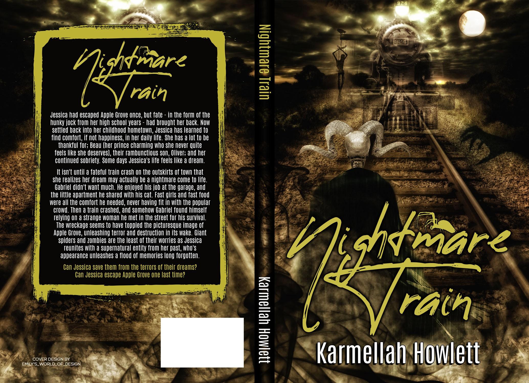 Cover for Nightmare Train by Karmellah Howlett