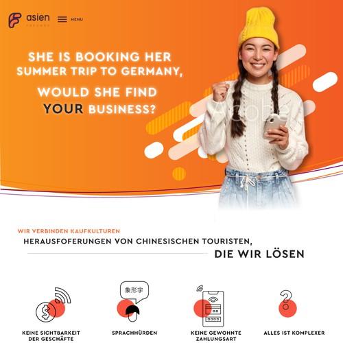 Website for International Commerce business