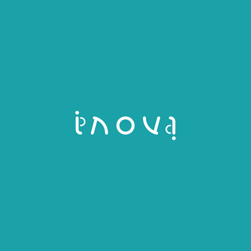 Ambigram logo for innovative furniture: Inova