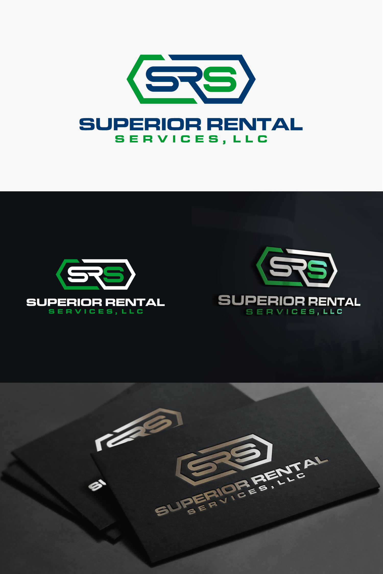 Looking for a simple but professional looking logo design for my rental business.