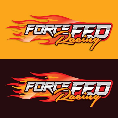 Create a fast Hot Wheels type logo for Force Fed Racing.( Drag Racing Team)