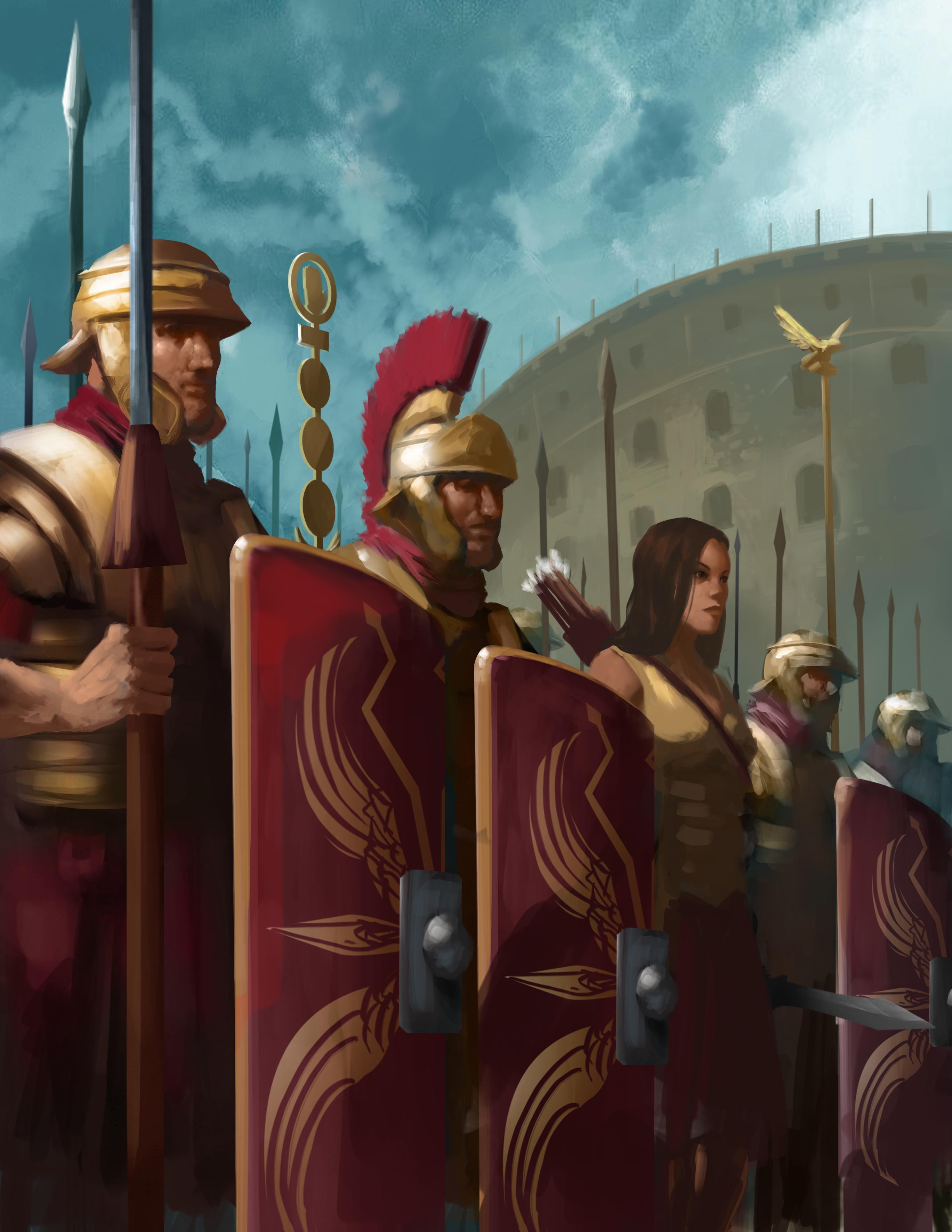 Comradery of the Praetorian Guard!