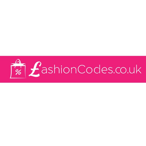 New logo for a fashion site