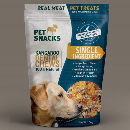Retail Packaging For Pet Treats Company
