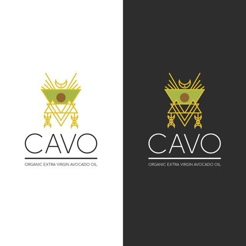 Logo concept for avocado oil
