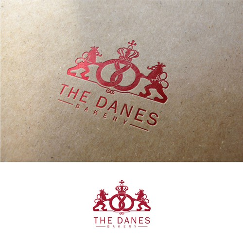 The Danes Bakery: 75th anniversary logo