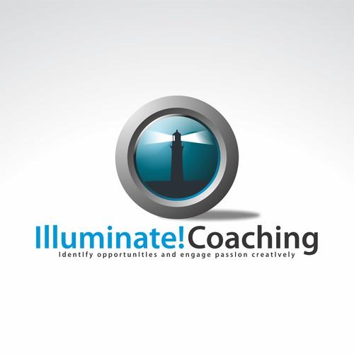 logo for Illuminate! Coaching