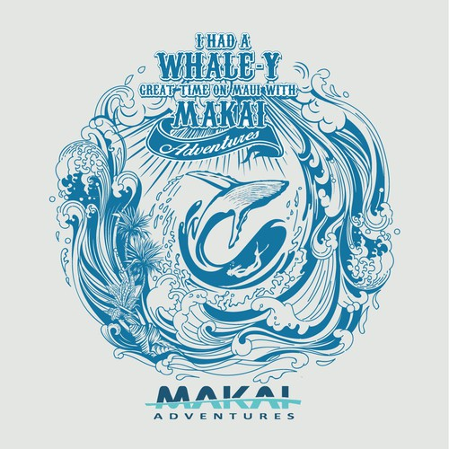 Makai Adventure T shirt design