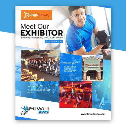 Meet The Exhibitor flyer