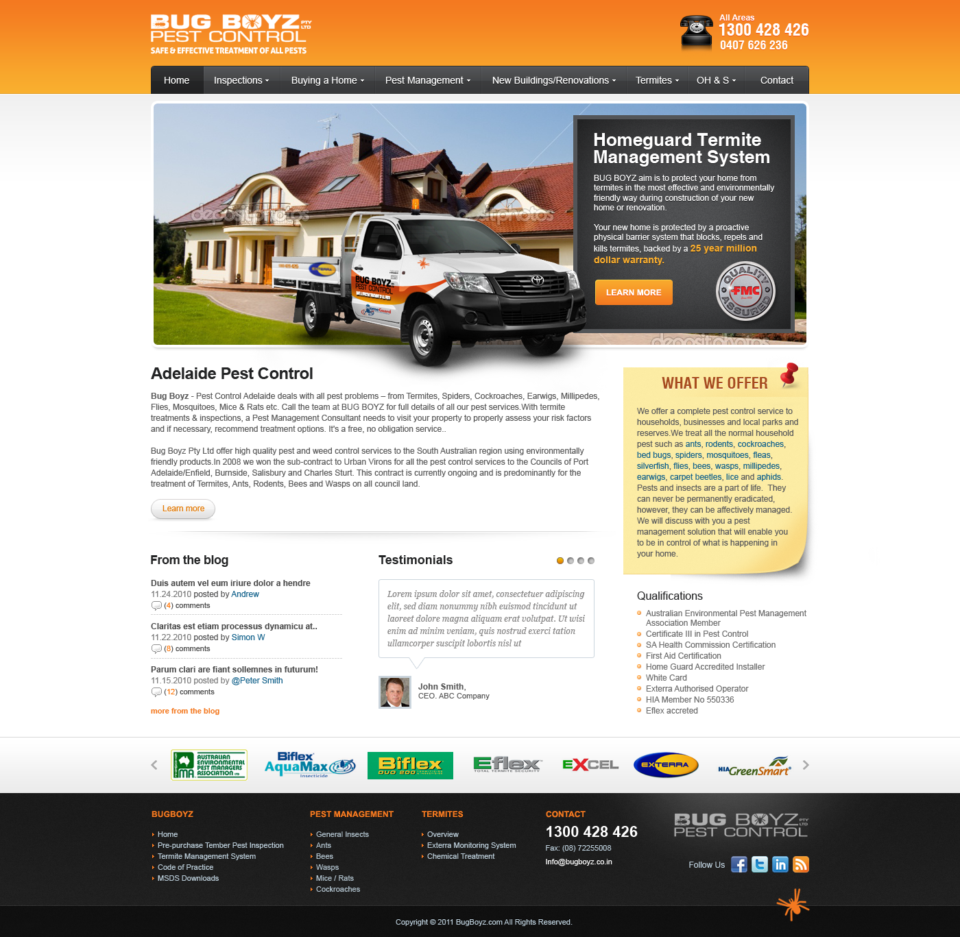 Help Bug Boyz with a killer new web design