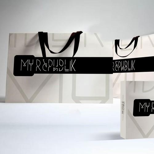 My Republik Paperbag