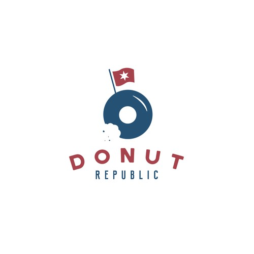 Logo for Donut Republic