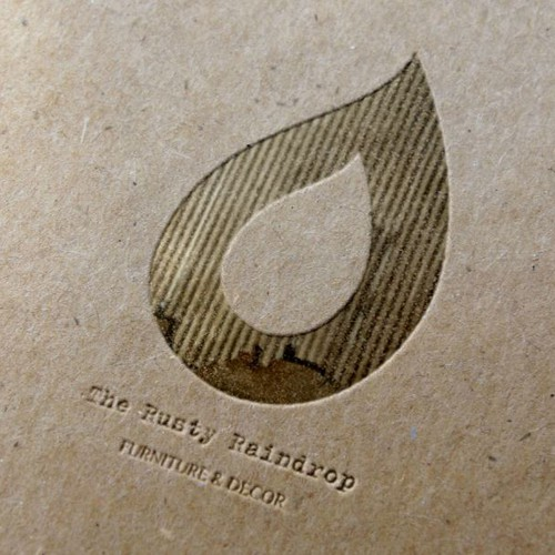 The Rusty Raindrop-Create a new image and logo for this new rustic home decor/furniture boutique!