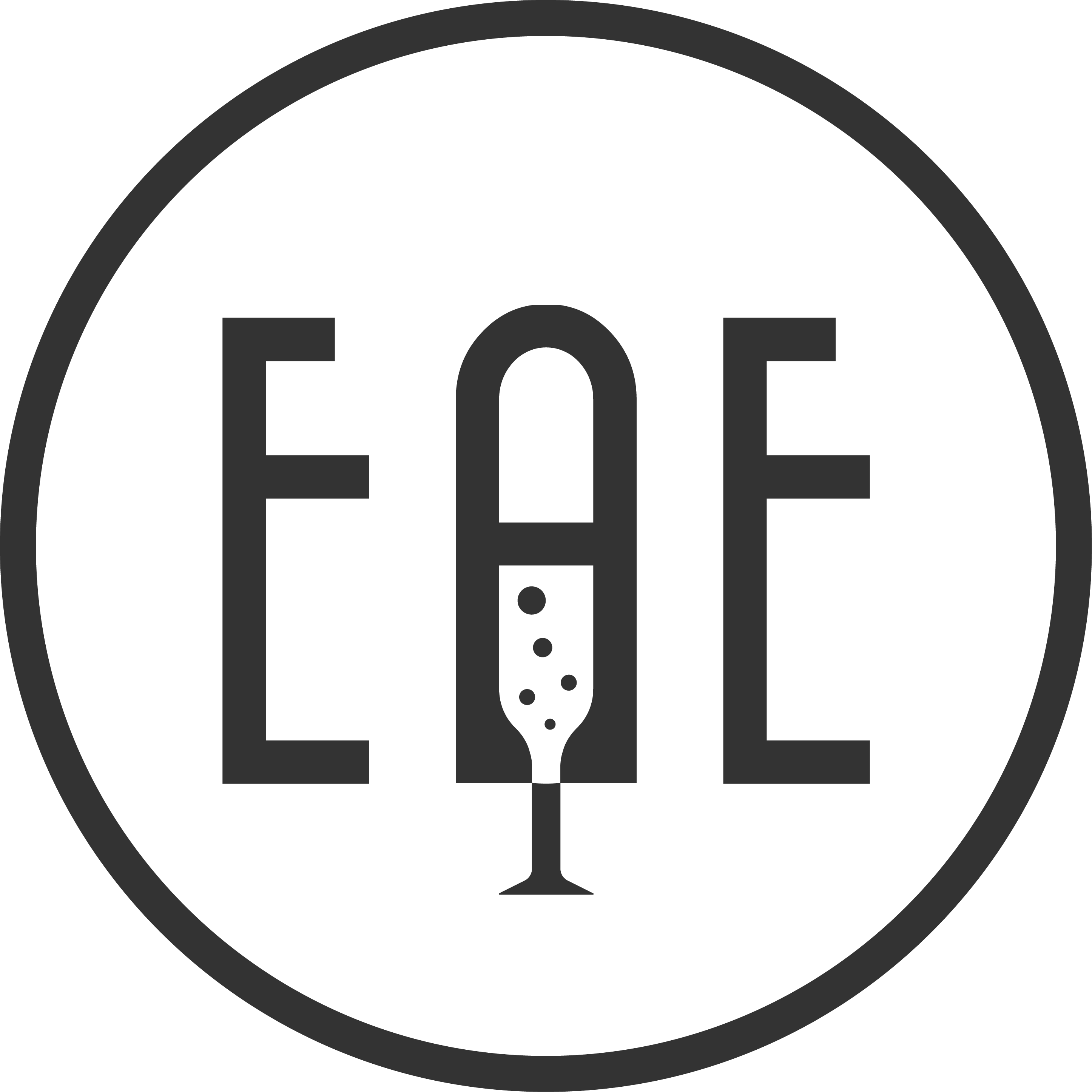 Logo for initial in wine industry