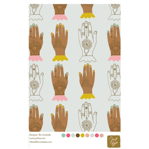 Hand draw Pattern Illustration