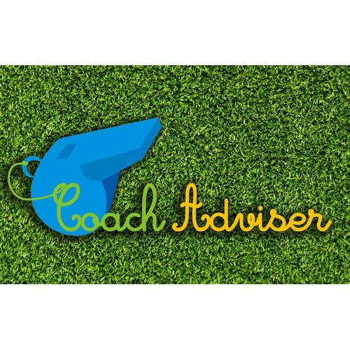 Create a logo to help define Coach Adviser - the premiere Sports Management Website Service