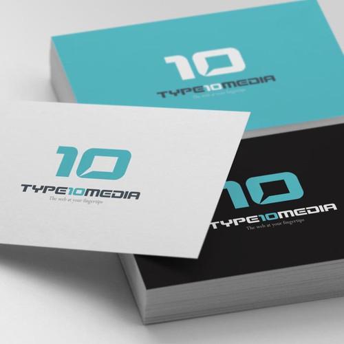 Create logo for TYPE10 Media