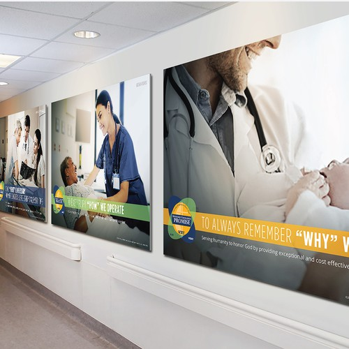 Help us design a poster to promote Hospital Operational Excellence!