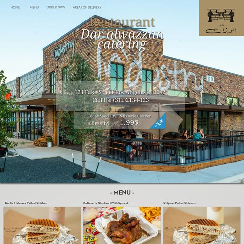 restaurant and catering site