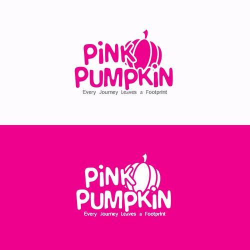 PinkPumpkin Logo Design