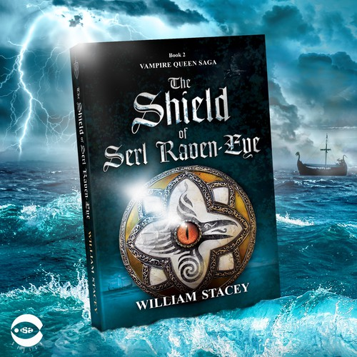 "Book cover for ""The Shield of Serl Raven-Eye"" by William Stacey"