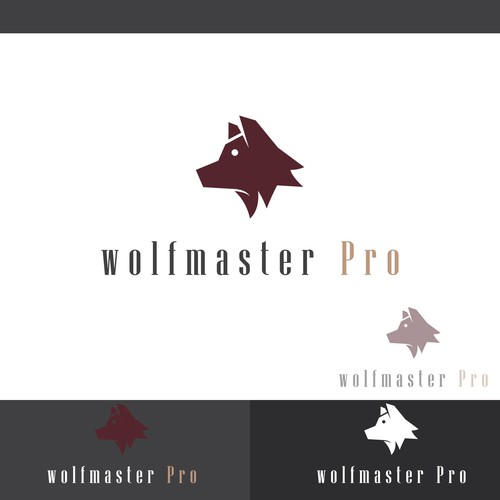 Concept logo designed for Wolfmaser Pro