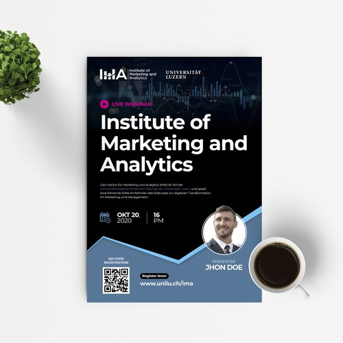 Flyer Templates for IMA