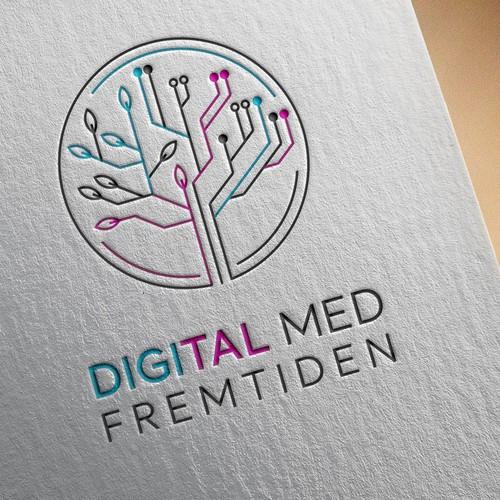 Logo design for Digital Med Fremtiden