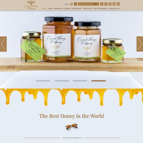 Heny company website design