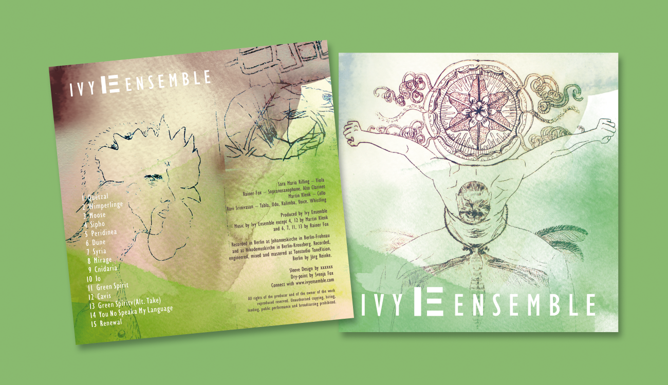 CD-Cover Ivy Ensemble